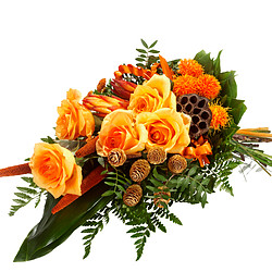 Symbathy Arrangement in orange