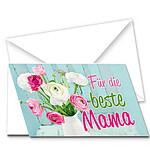 """Motivkarte """"Für die beste Mama"""""""