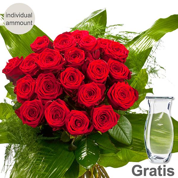 Premium Roses in a bouquet