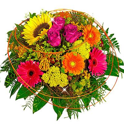 Blumenstrauß Blütengruß