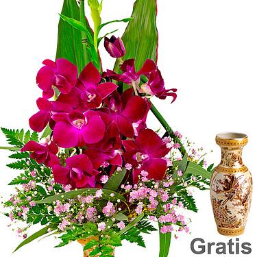 Asiatischen Orchideen