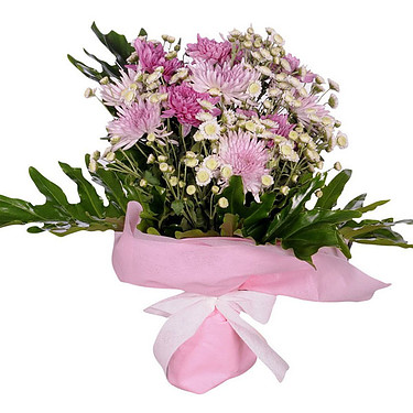 Flower Bouquet Rosa Eleganz