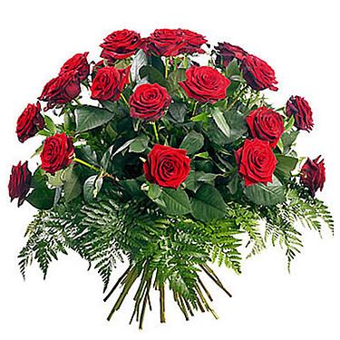 Roter Rosenstrauß
