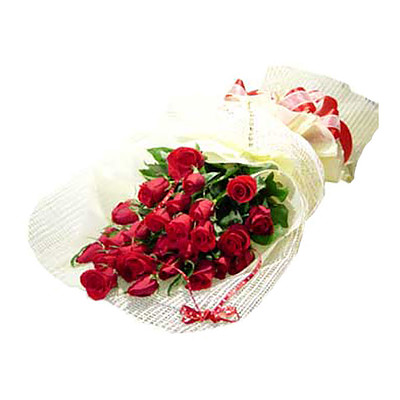 Rote Rosen im Bund