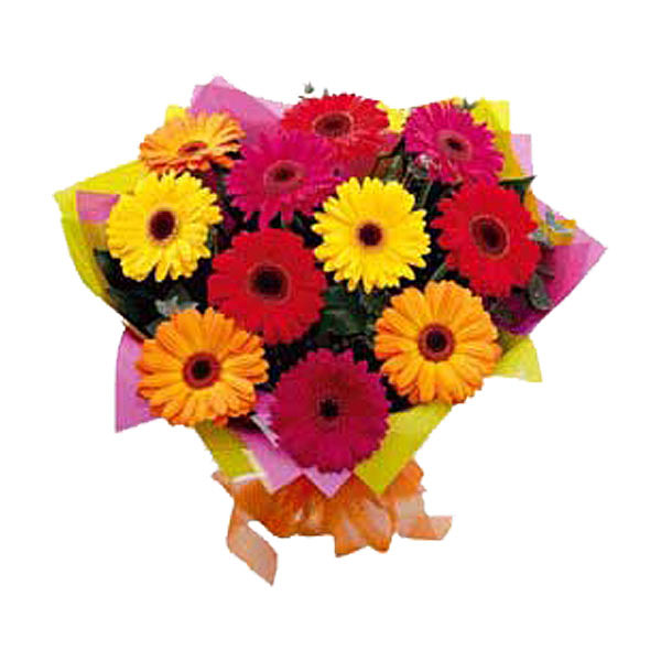 Bunch of  gerberas