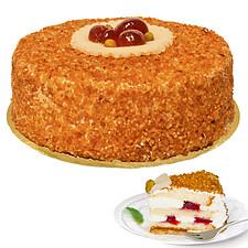 Haselnusskrokant-Torte