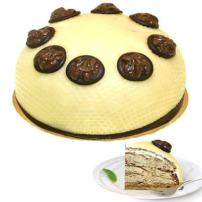 Walnusscremetorte