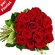 Rote langstielige Rosen