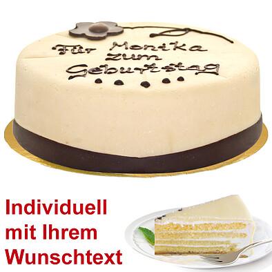 Dessert-Marzipantorte nach Lübecker Art, beschriftbar