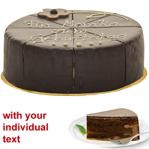 Wonderful Dessert Sacher Cake