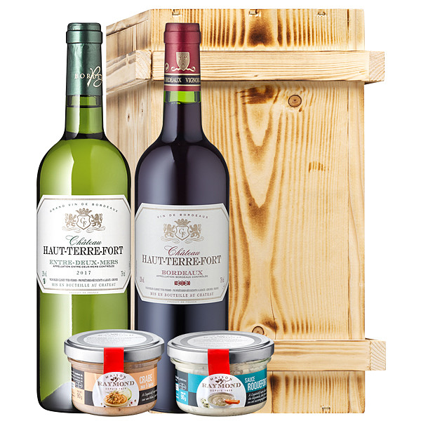 Köstlichgeschenksets - Gourmetset Bordeaux Bons Specialites - Onlineshop FloraPrima