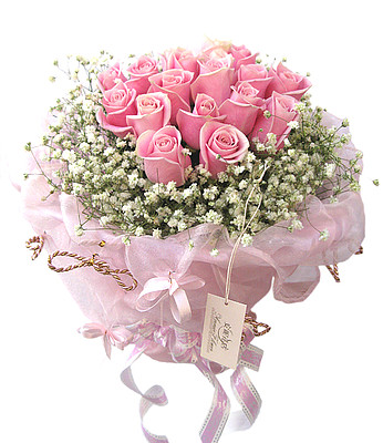 Rosenstrauß Rosa Eleganz