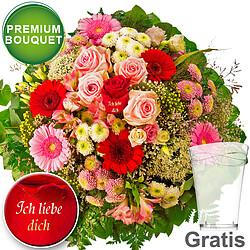 """Premium Bouquet """"Ich liebe Dich"""""""
