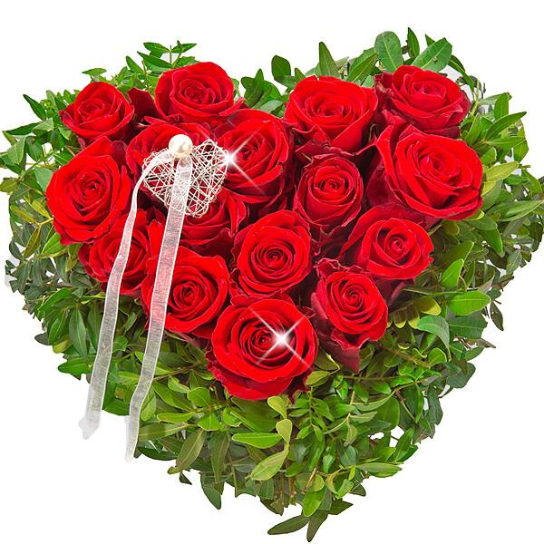 Rose Heart Ti Amo