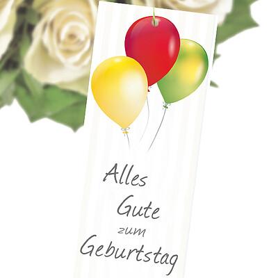 """Flowercard """"Alles Gute zum Geburtstag"""""""