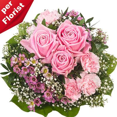 Flower Bouquet Mit Liebe