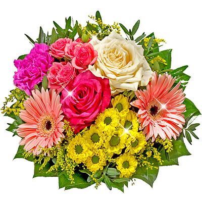 Blumenstrauß bunter Mix