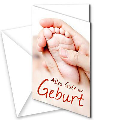 "Motivkarte ""Geburt"""