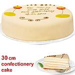 Large Lübecker Marzipan Cake