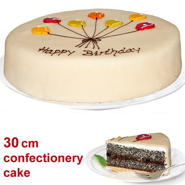 Large Poppy Seed Cake