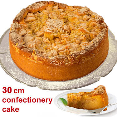 Large Apple Cake