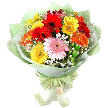 Flower Bouquet Gerberatraum