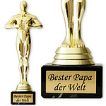 "Siegerfigur ""Bester Papa der Welt"""