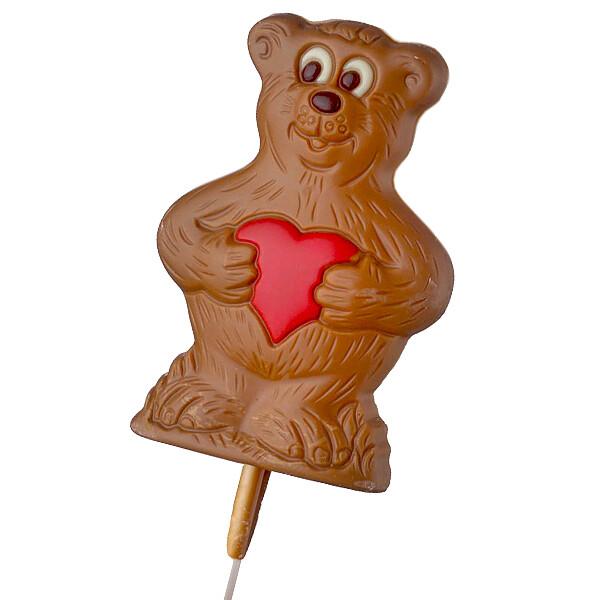 Schokololly Bär mit Herz