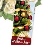 """Flowercard """"Frohe Weihnachten"""""""