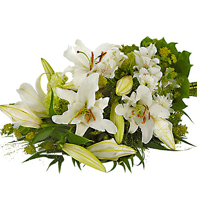 Symbathy Arrangement with lilies