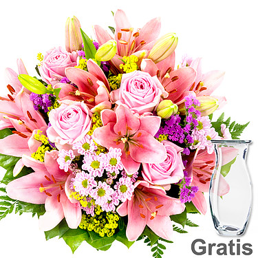 Flower Bouquet Lilienzauber