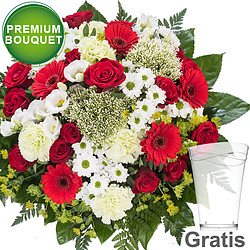 Premium Bouquet Blütenpracht