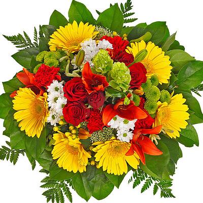 Blumenstrauß Sonnenstrahl