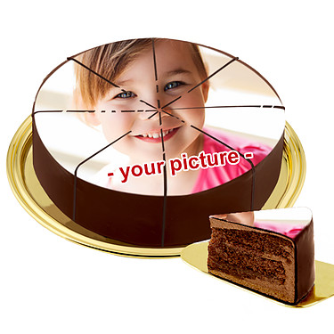 Cake With Your Own Photo
