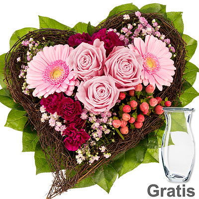 Flower Bouquet Herzenswunsch