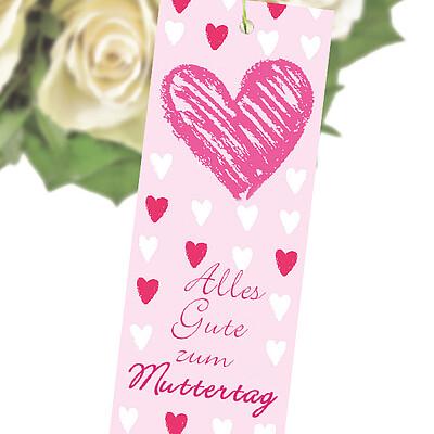 """Blumenstecker """"Alles gute zum Muttertag"""""""