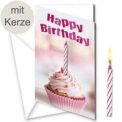"""Motivkarte """"Happy Birthday"""""""