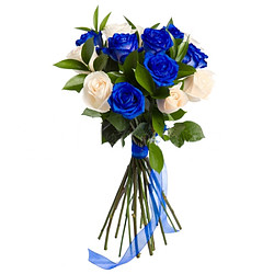 Blumenstrauß Blue Velvet