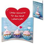 """Motivkarte """"Die besten Wünsche zum Geburtstag"""""""