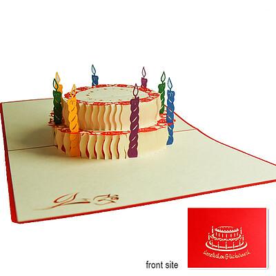 Kirigami Card Birthday