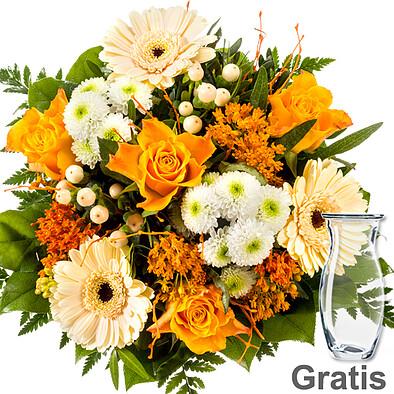 Flower Bouquet Bernstein with vase