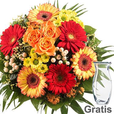 Blumenstrauß Topas