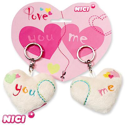 Key chains hearts You & Me