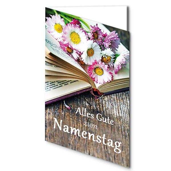 "Greeting Card ""Alles Gute zum Namenstag"""