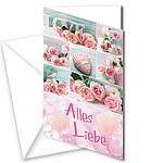 "Motivkarte ""Alles Liebe"""