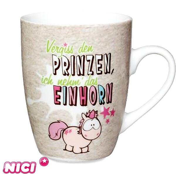 "Tasse ""Vergiss den Prinzen..."""