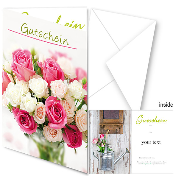Gift Certificate Flower Neutral