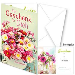"""Gutschein """"Ein Geschenk für Dich"""""""