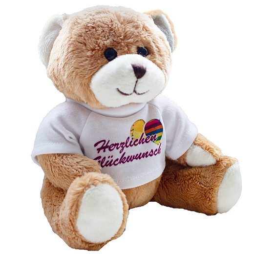 Bear with t-shirt