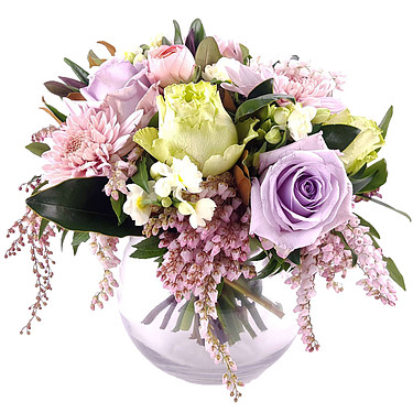 Flower Bouquet Pastel Posy